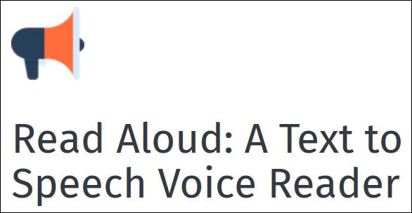 Read Aloud: sintesi vocale contro la dislessia