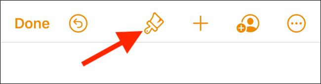 L'icona con cui scegliere il carattere