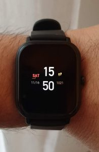 recensione amazfit gts - always on display