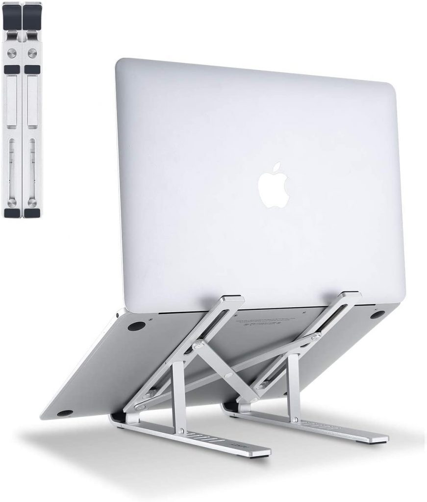stand aukey per macbook e notebook