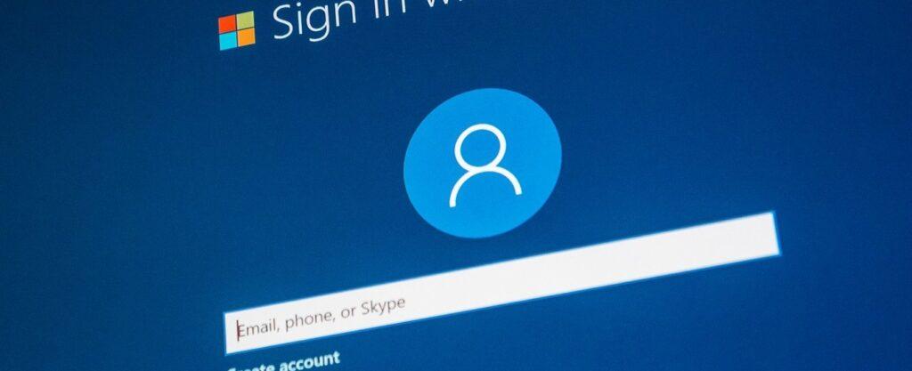 Password in Windows 10