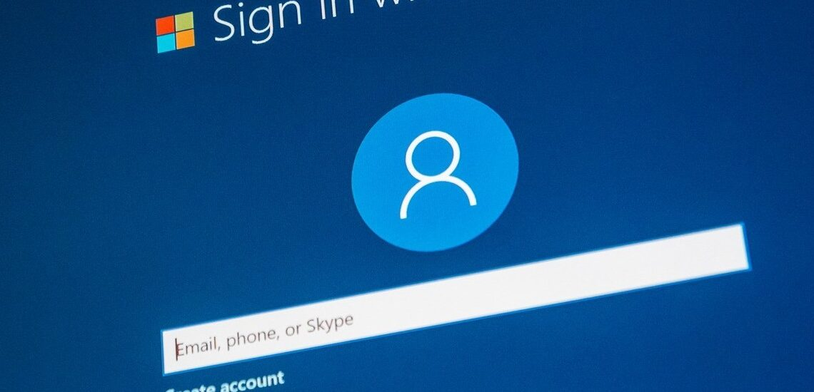 Password in Windows 10