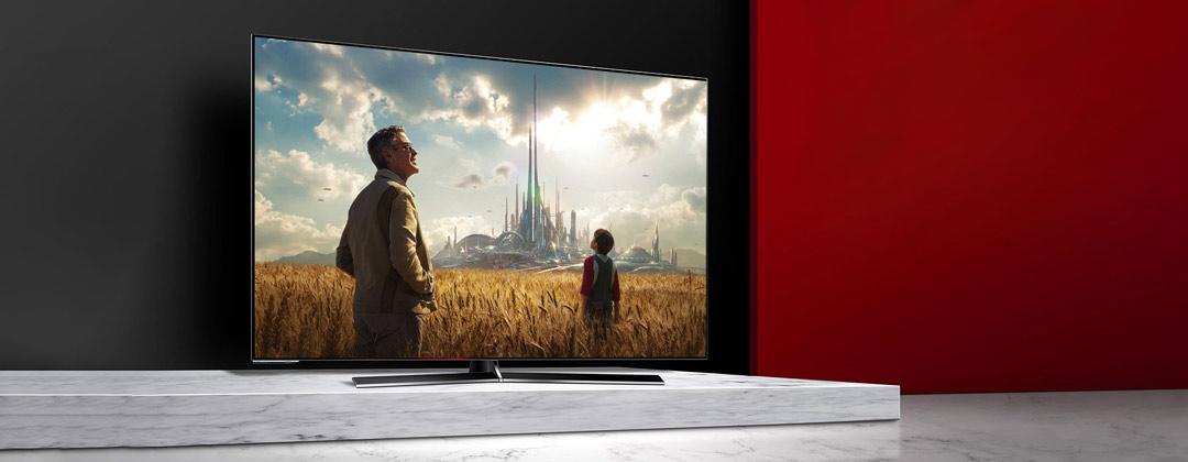 Una TV OLED