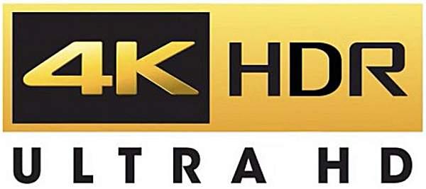TV: il logo 4K e HDR