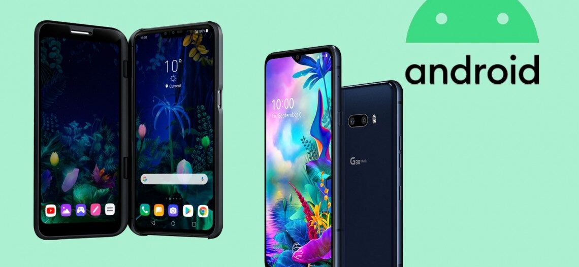 LG UX 9.0 android 10