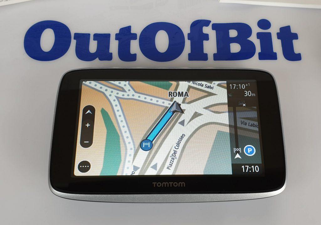 Recensione TomTom GO Premium - schermo in navigazione