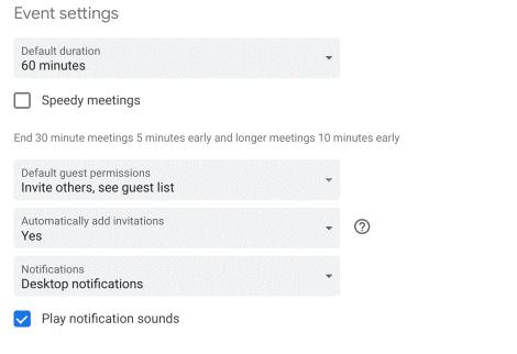"""Google Calendar: la voce """"Aggiungi automaticamente gli inviti"""""""