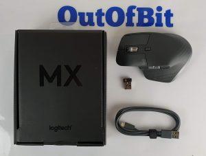 mouse Logitech MX Master 3 - confezione e contenuto