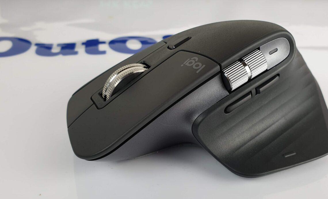 mouse Logitech MX Master 3 - lato 2