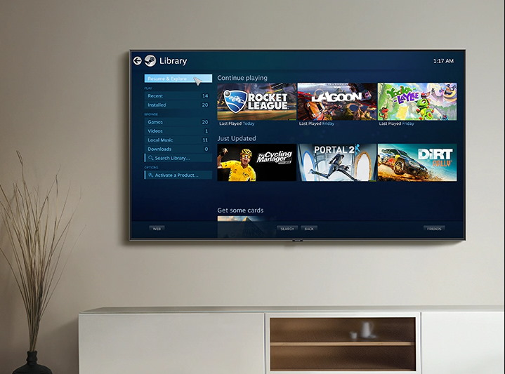 Giochi PC su smart tv
