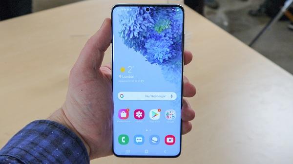 Procedura tasti fisi screenshot Samsung Galaxy S20