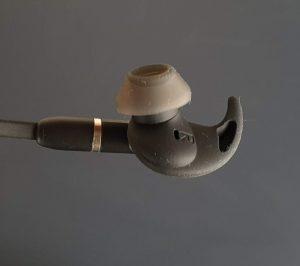 Recensione Jabra Evolve 65e - interno cuffia