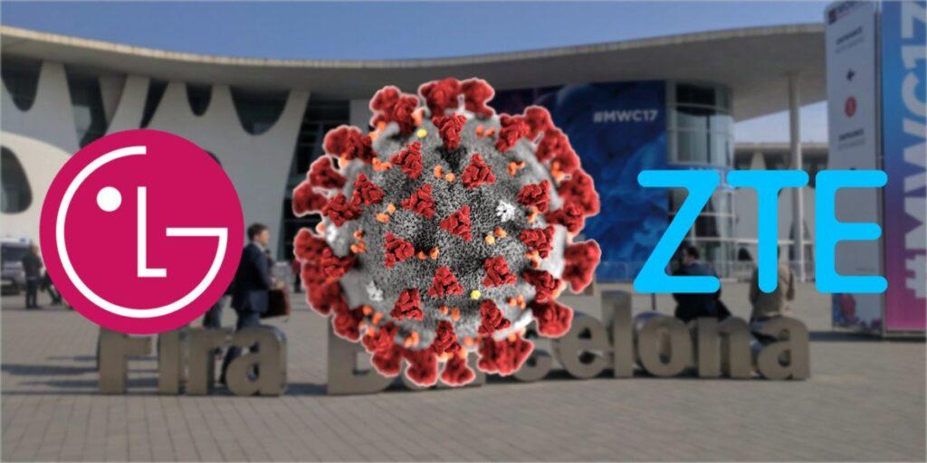 coronavirus LG ZTE