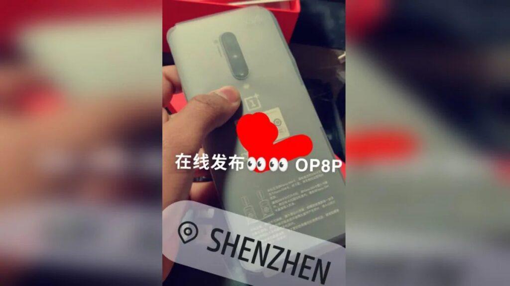 oneplus 8 pro smartphone foto dal vivo