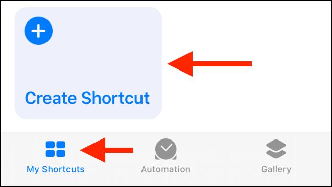 Scorciatoie iOS13