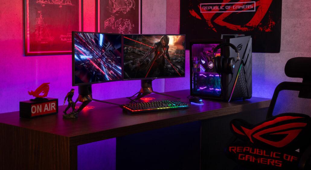 asus desktop gaming