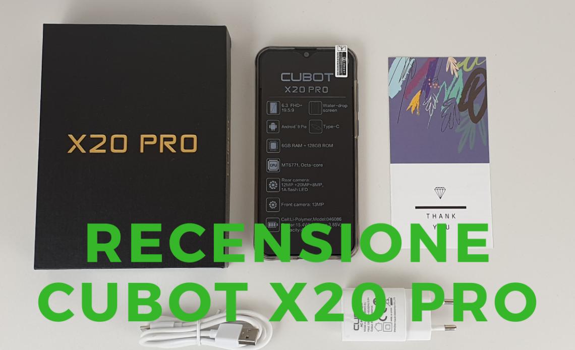 Recensione Cubot X20 Pro