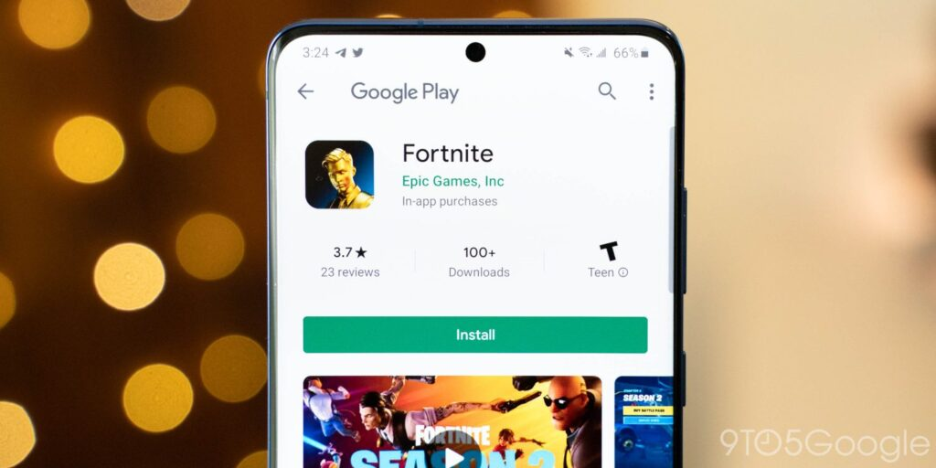 fortnite android google play store