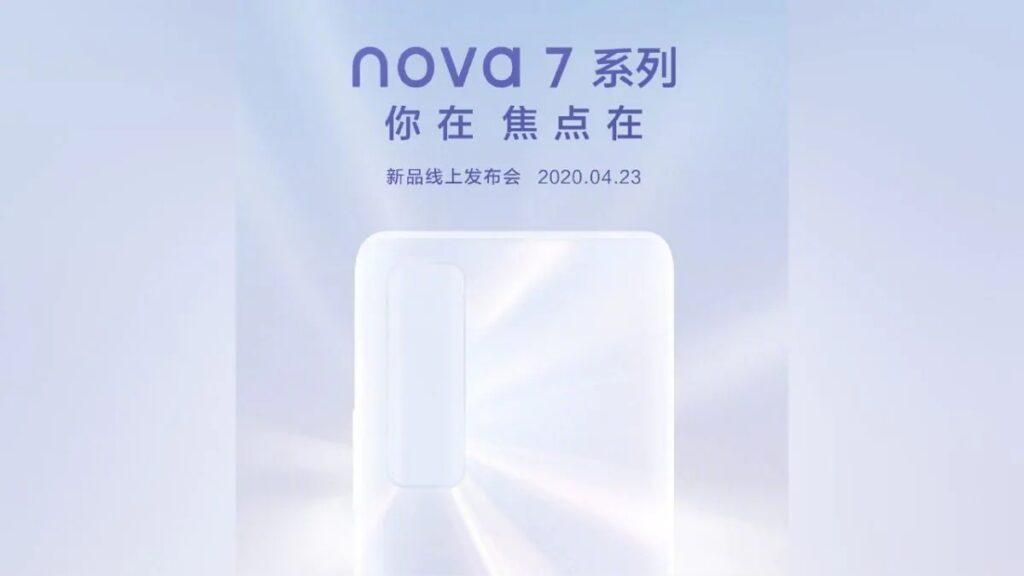 huawei nova 7 weibo