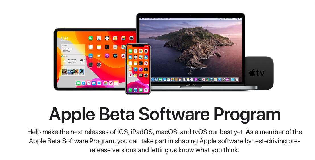Beta pubblica iOS 13.5