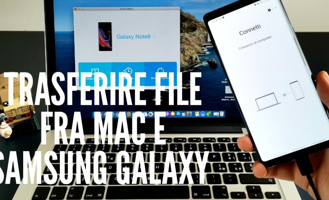 Come trasferire file e foto fra Mac e Samsung Galaxy