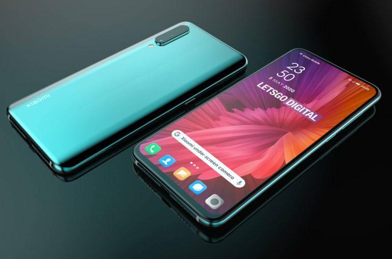 Xiaomi fotocamera sotto il display