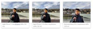 fotocamera selfie iPhone 11