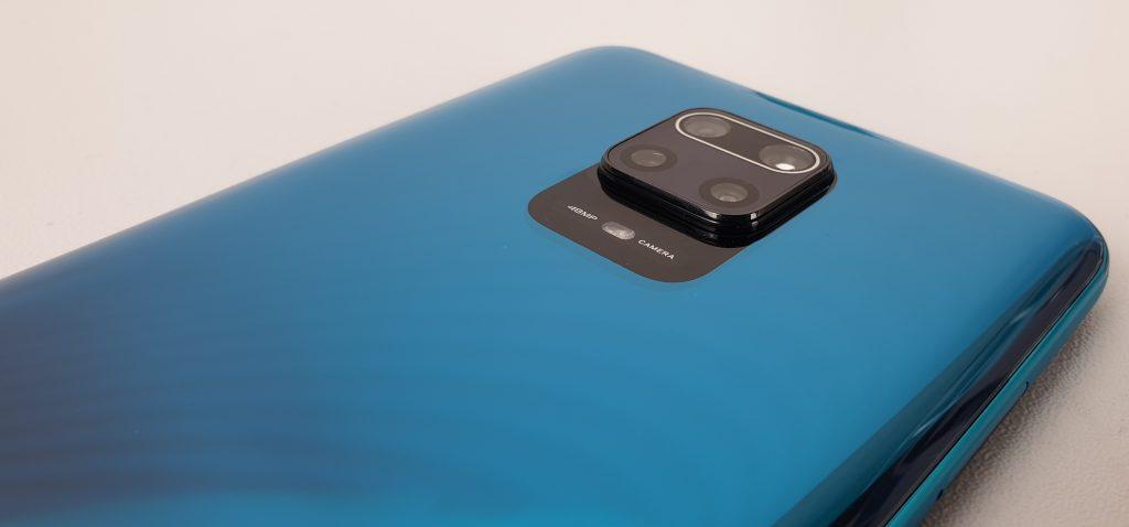 redmi note 9 -dettaglio della fotocamera posteriore
