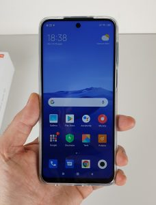 redmi note 9 -display