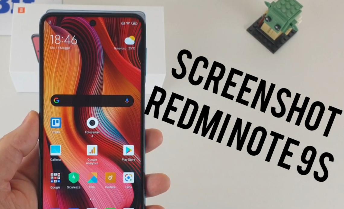 screenshot redmi note 9s