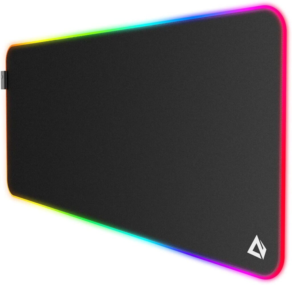 AUKEY Tappetino Mouse RGB