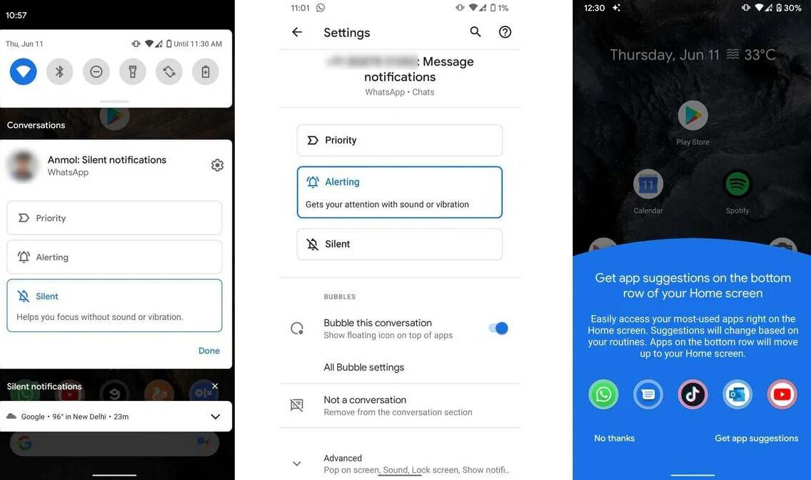 google prima beta android 11