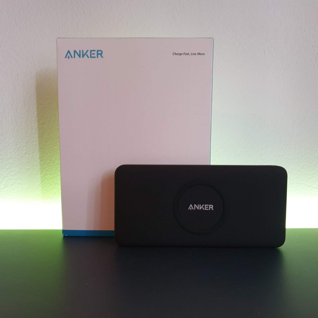 Anker Powerbank Wireless PowerCore - confezione