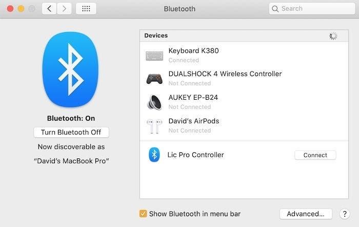 I dispositivi che possono essere connessi a Mac