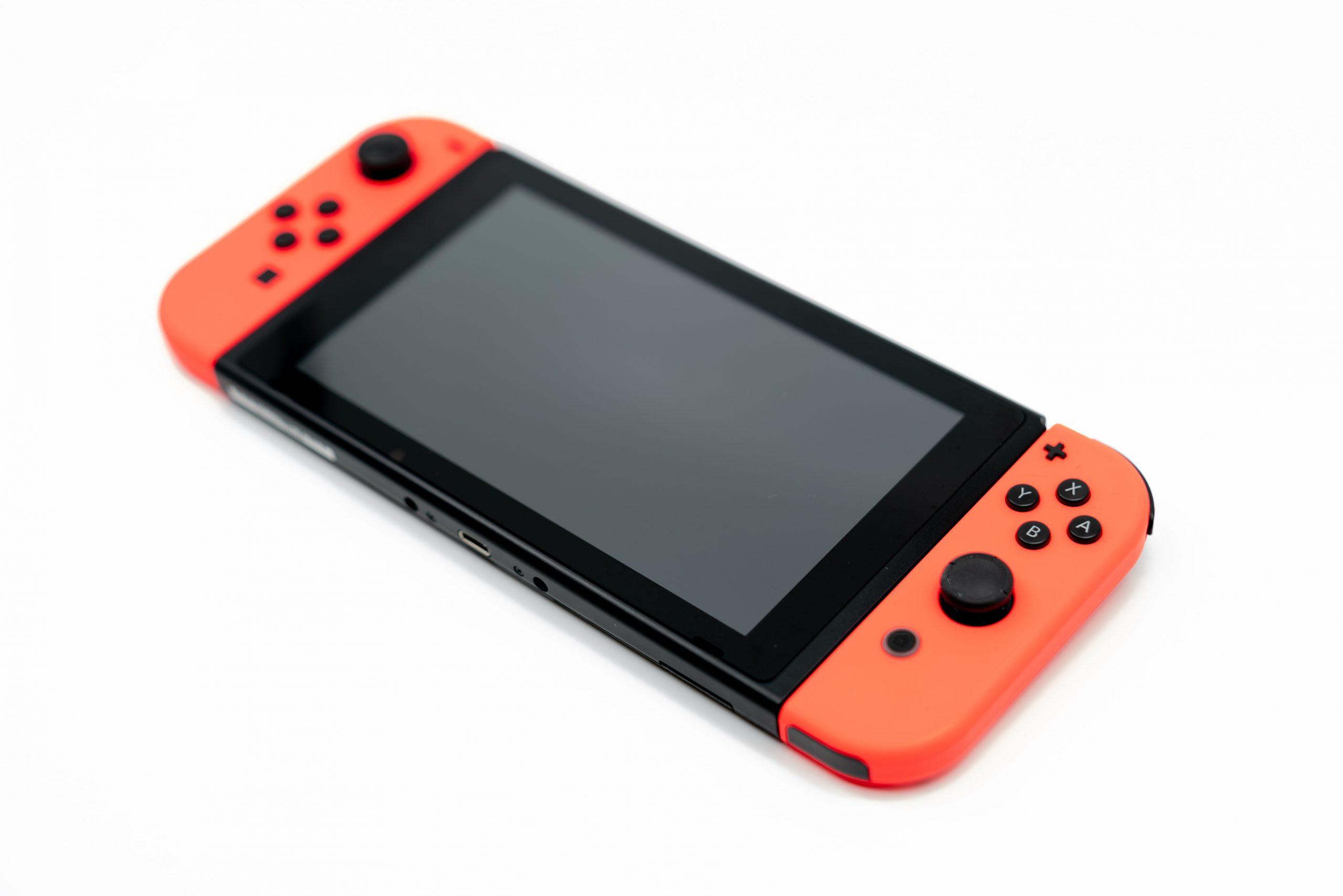 Una console Nintendo Switch