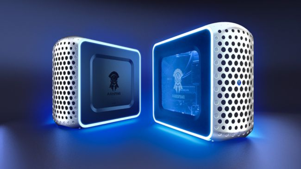 konami pc gaming desktop arespear