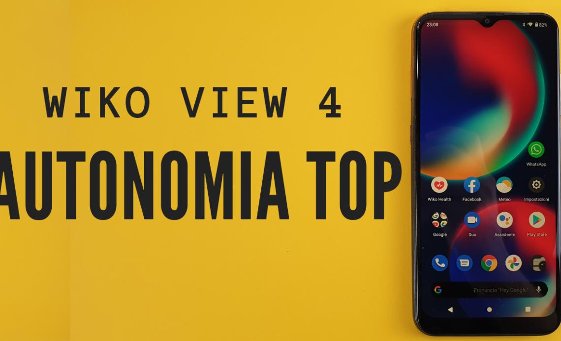 recensione wiko view 4
