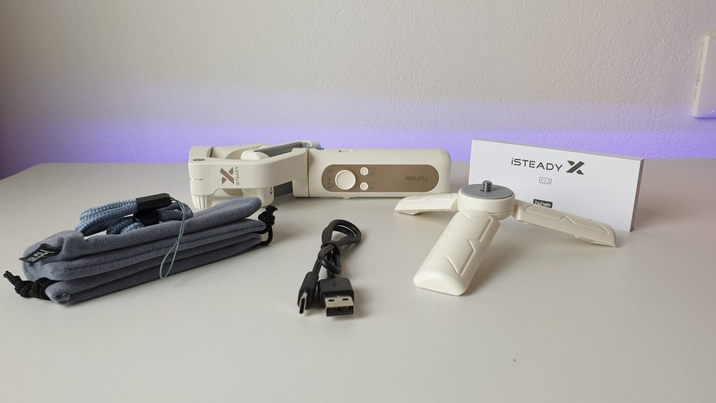 Hohem iSteady X - contenuto della confezione