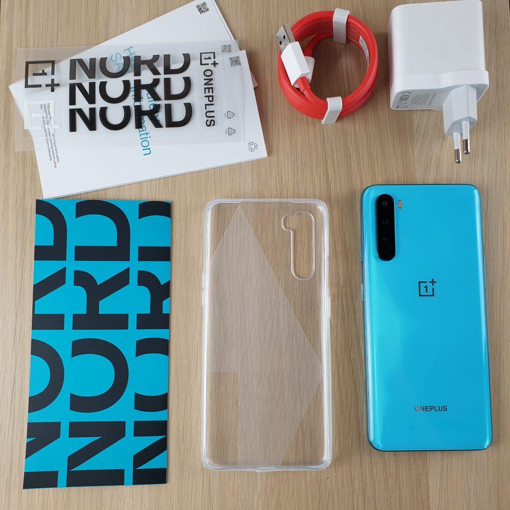 Recensione OnePlus Nord - dotazione di accessori