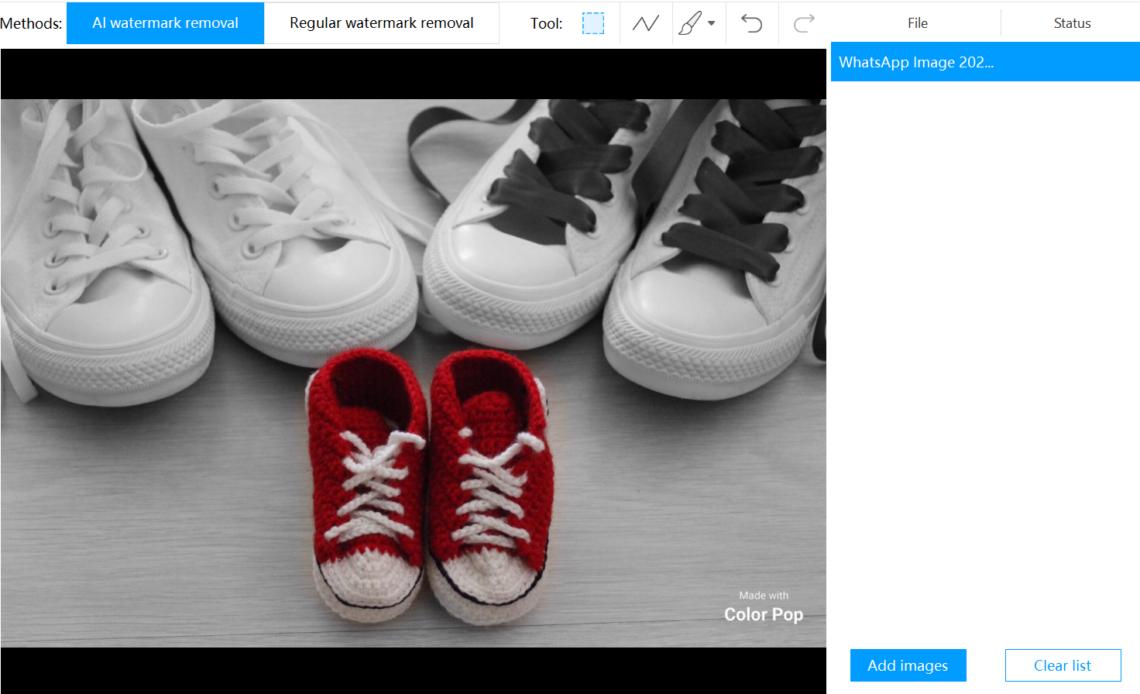 apowersoft watermark remover - rimozione filigrana