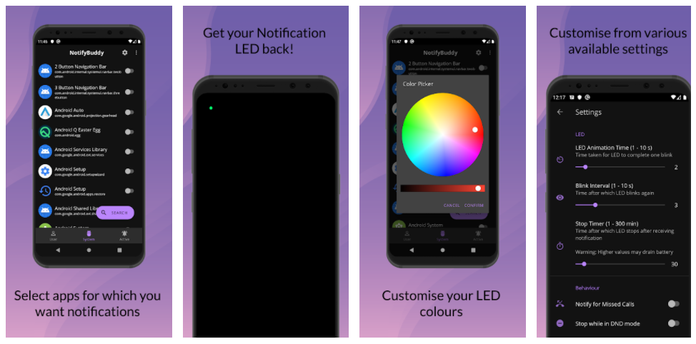 led di notifica oneplus nord con notifybuddy