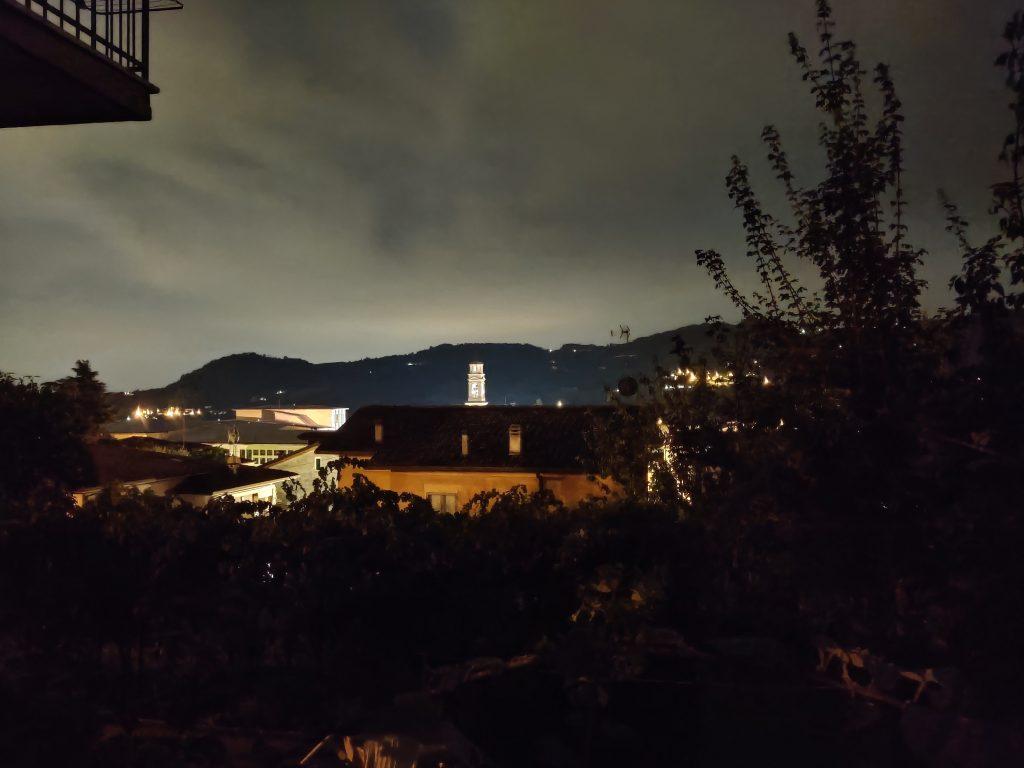 scatti oneplus nord - modalità notte