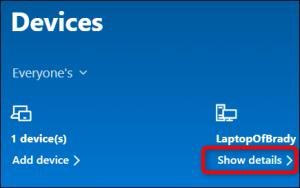 blocca PC Windows da remoto