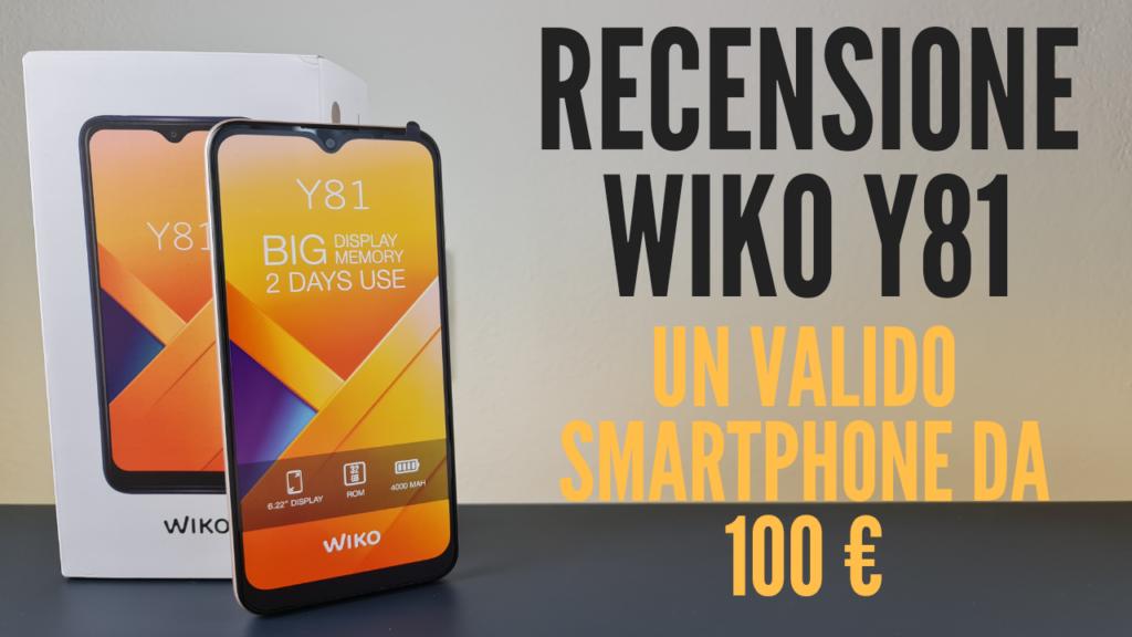 recensione wiko 81 - copertina