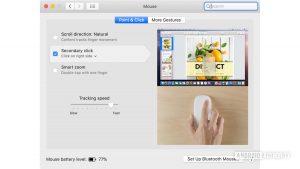 tasto destro su un Mac