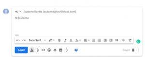 trucchi per Gmail scrittura intelligente