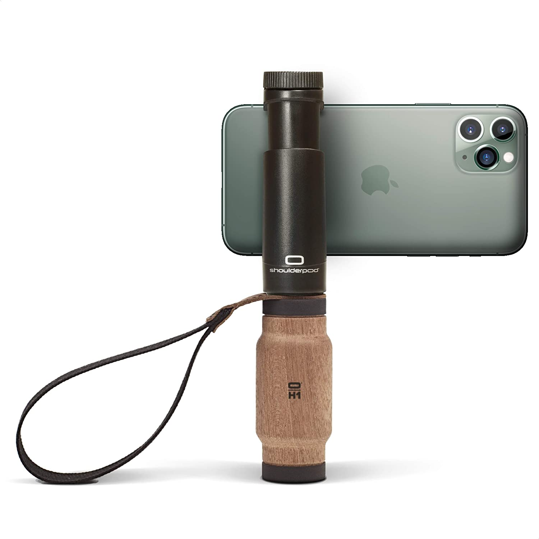 Gli accessori per smartphone con cui scattare foto: shoulderpod S2