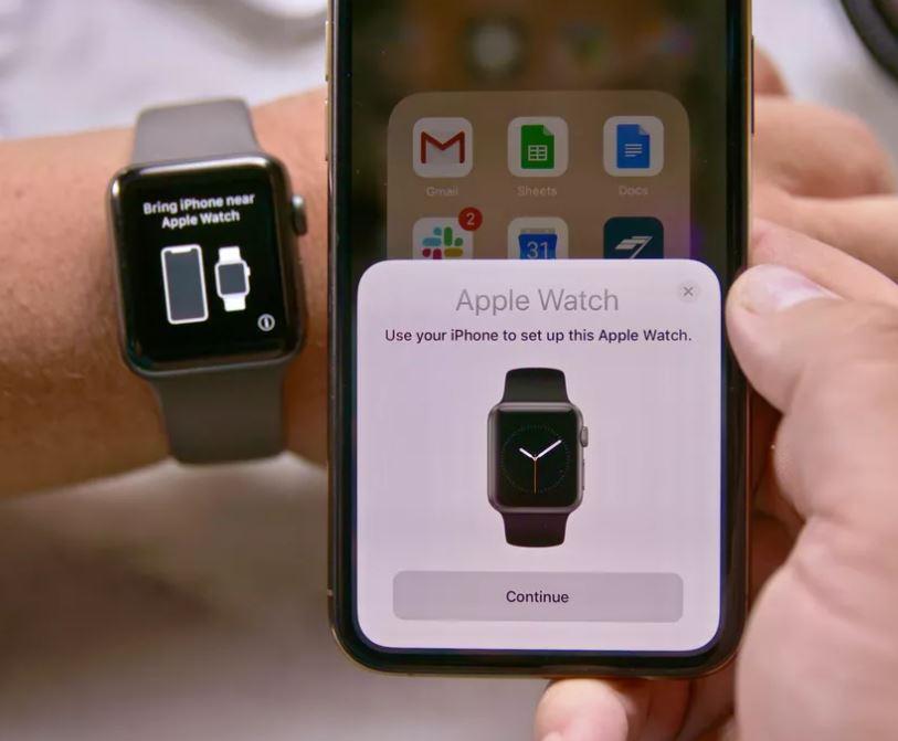 Associare apple Watch ad iPhone