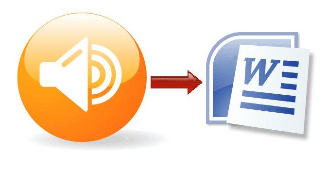 Come convertire file audio in testo