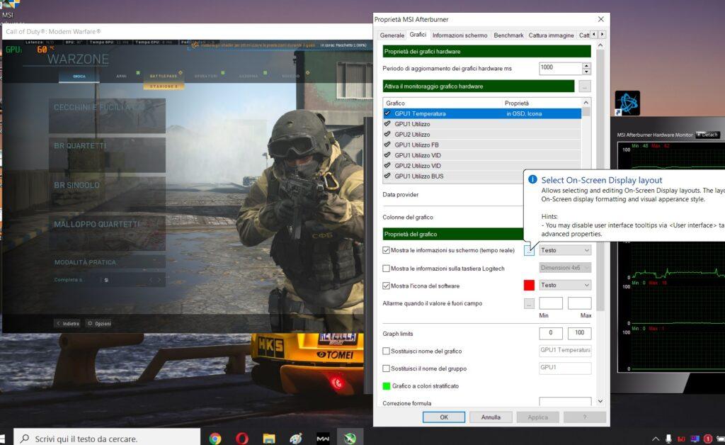 Come monitorare le prestazioni del PC mentre giochi con MSI Afterburner